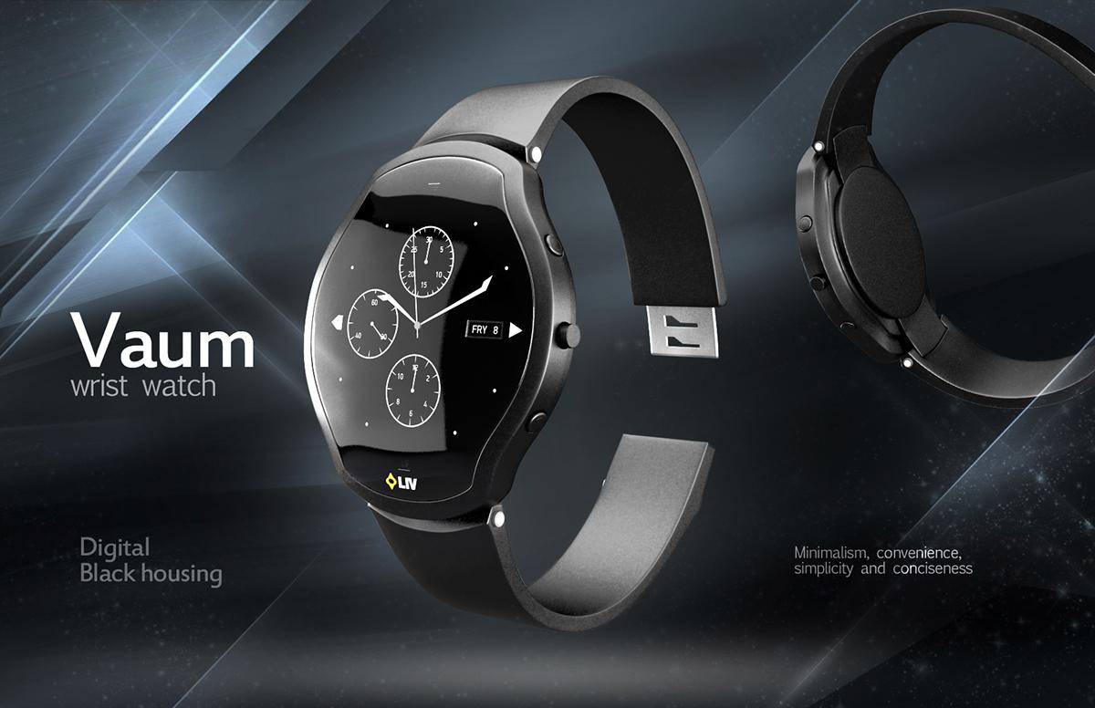 Vaum wristwatch - LIV Design Challenge
