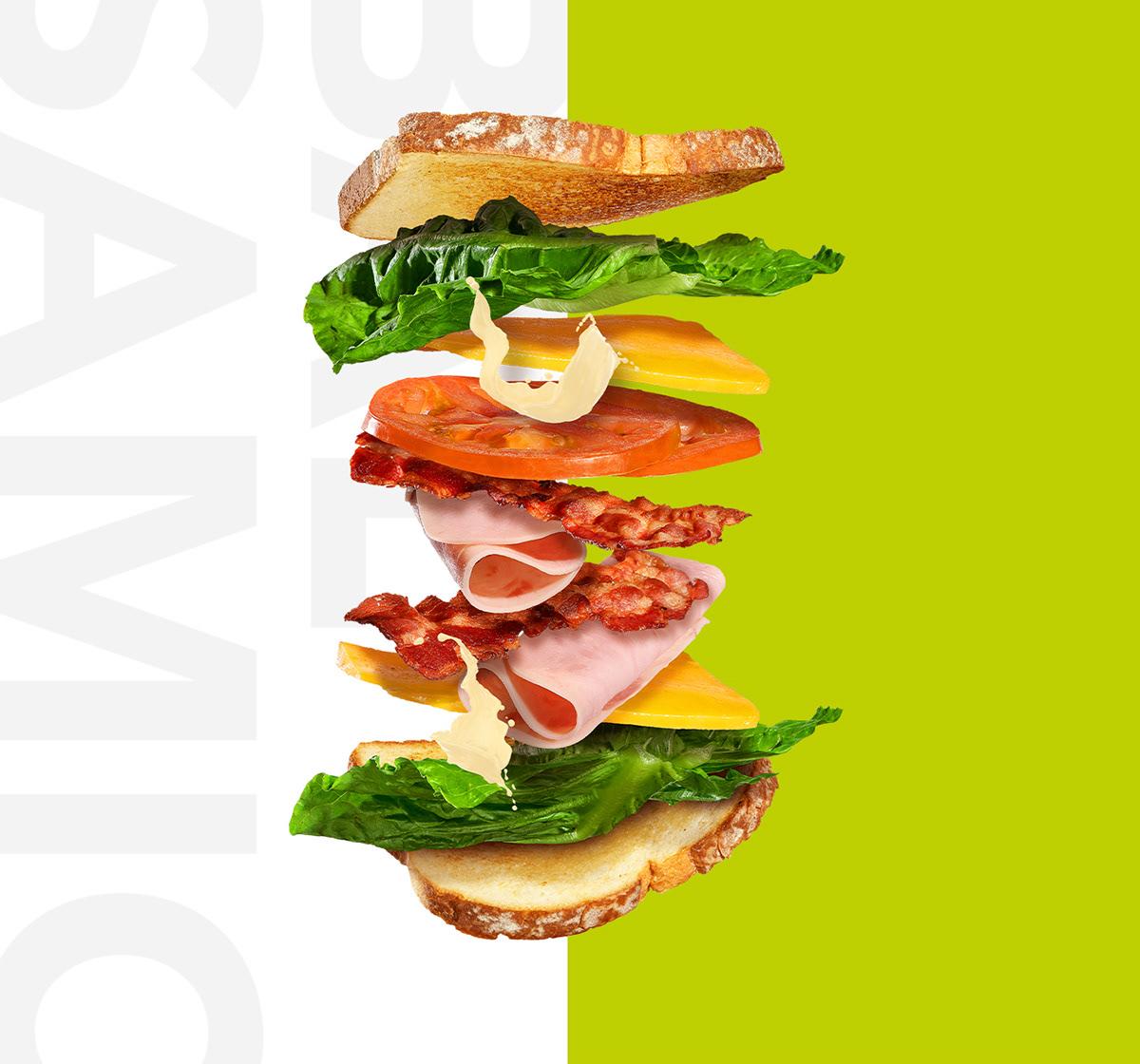 Image may contain: fast food, sandwich and hamburger