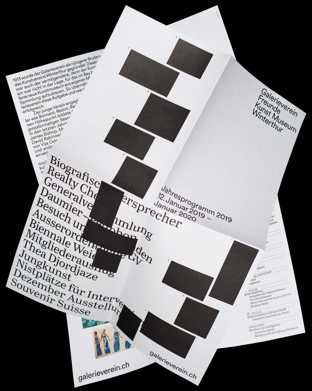 typography   graphicdesign ArtDirection poster AnnualProgram design art minimal swiss corporatedesign