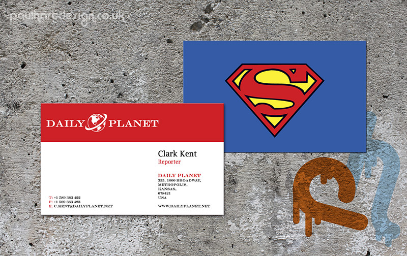 Superhero business cards on behance colourmoves