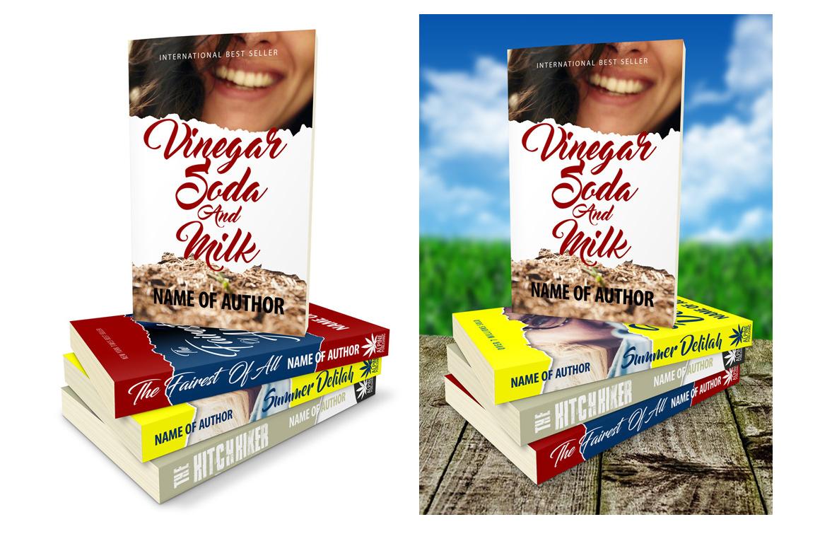 Book Stack Mockup book mockup premade book covers