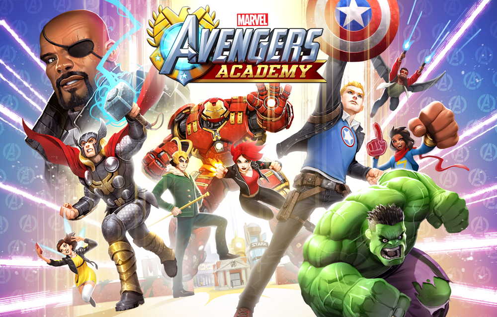 AVENGERS ACADEMY--Art From the Game on Behance