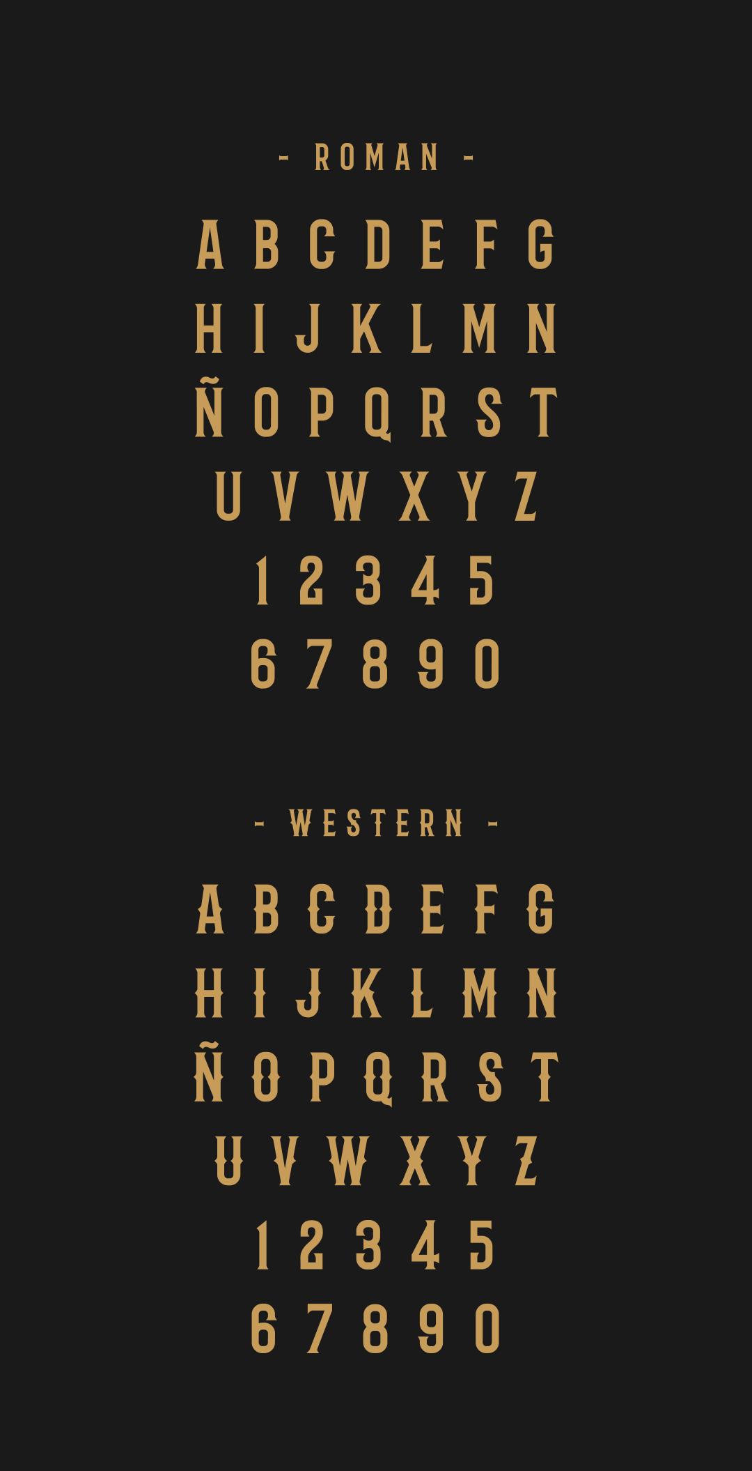 font freefont free serif type tipografia gratis dominican Republic santodomingo  santo Domingo western lettering barbaro