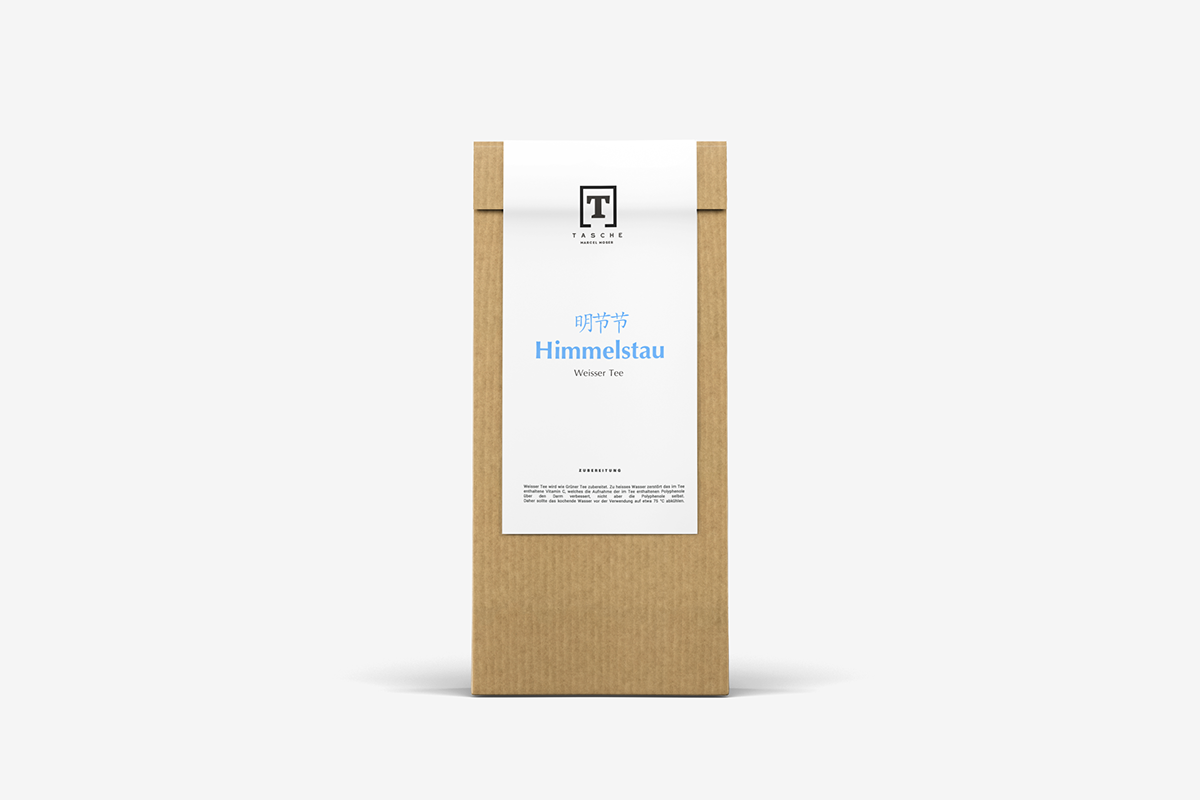 Packaging Tee Verpackung