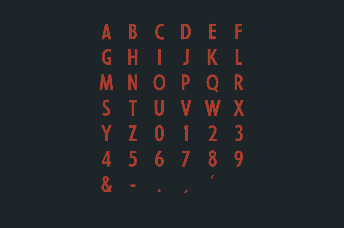 56th street free font on behance