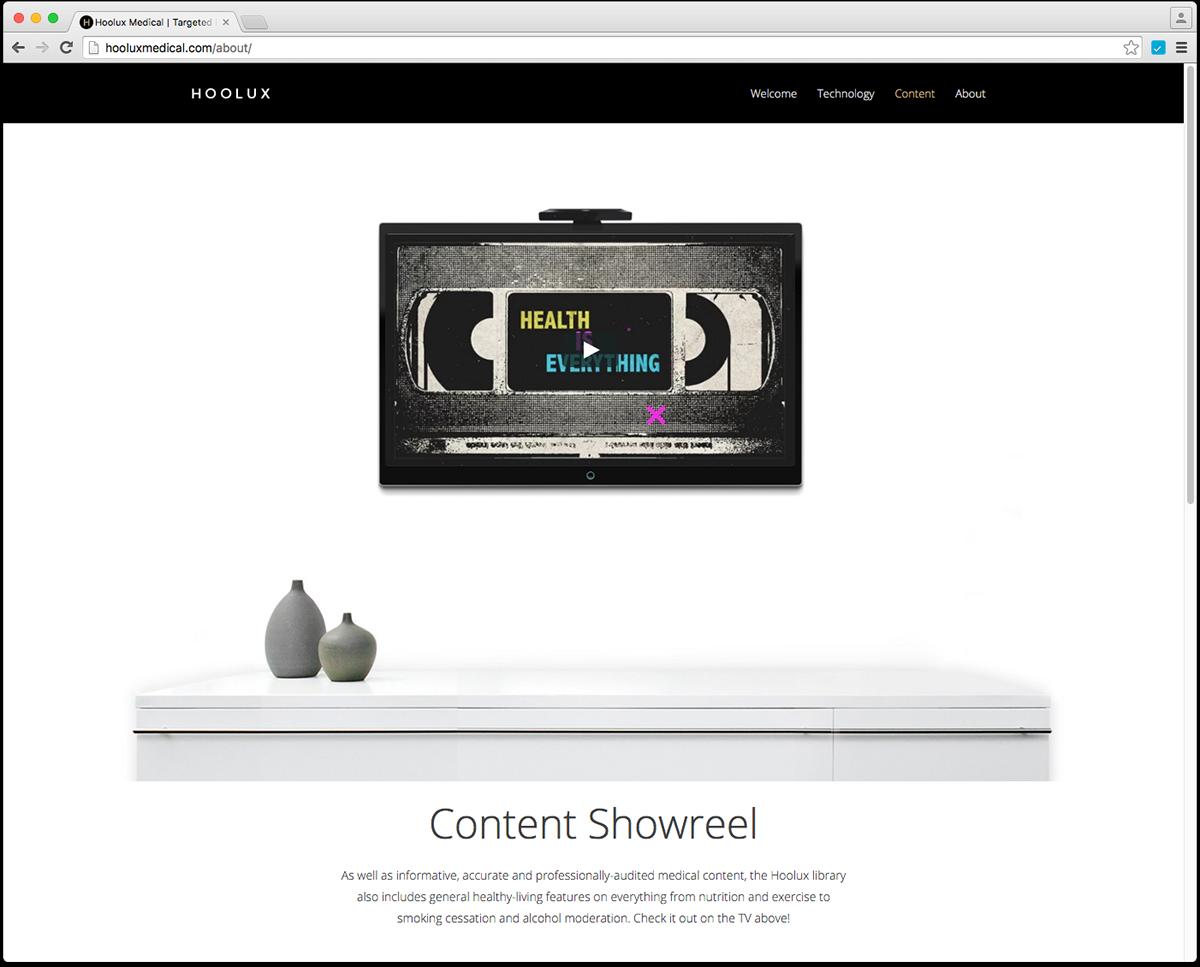 Hoolux Web box design