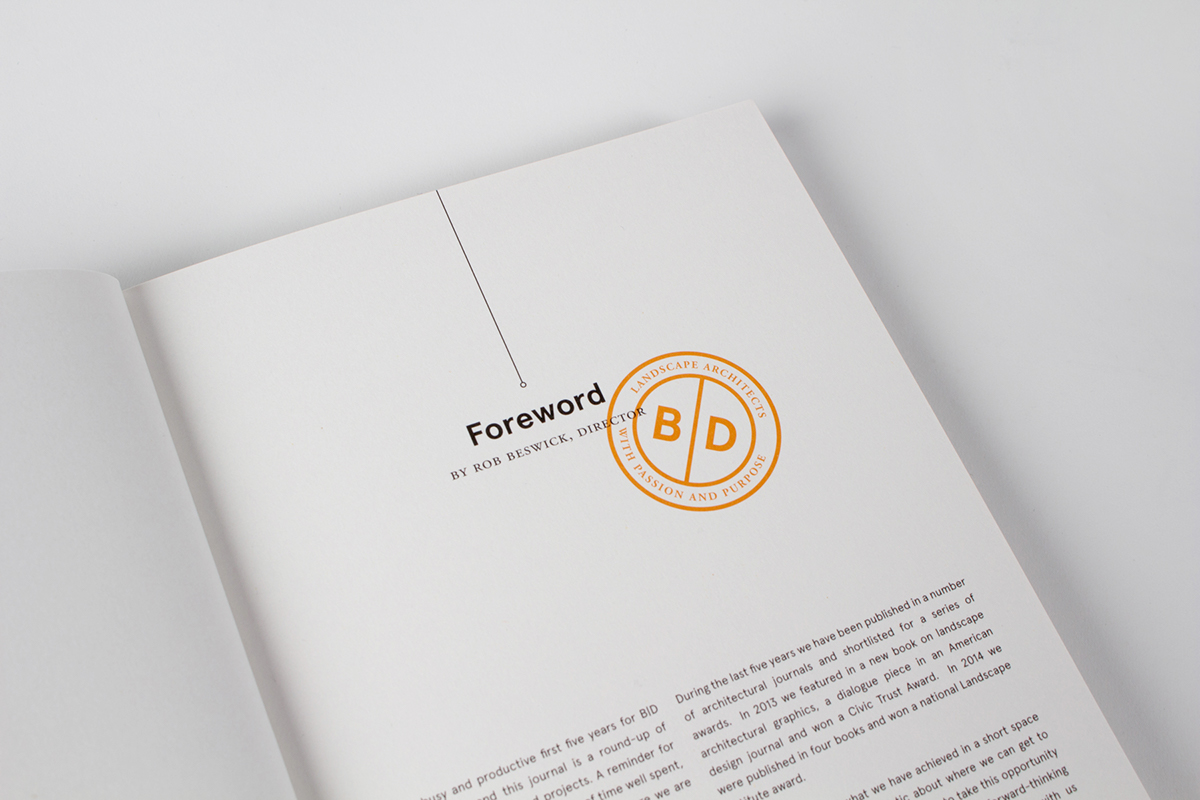 Landscape architects landscape architects book Layout orange grey perforated Label cover book cover book jacket Book Packaging binding handwritten