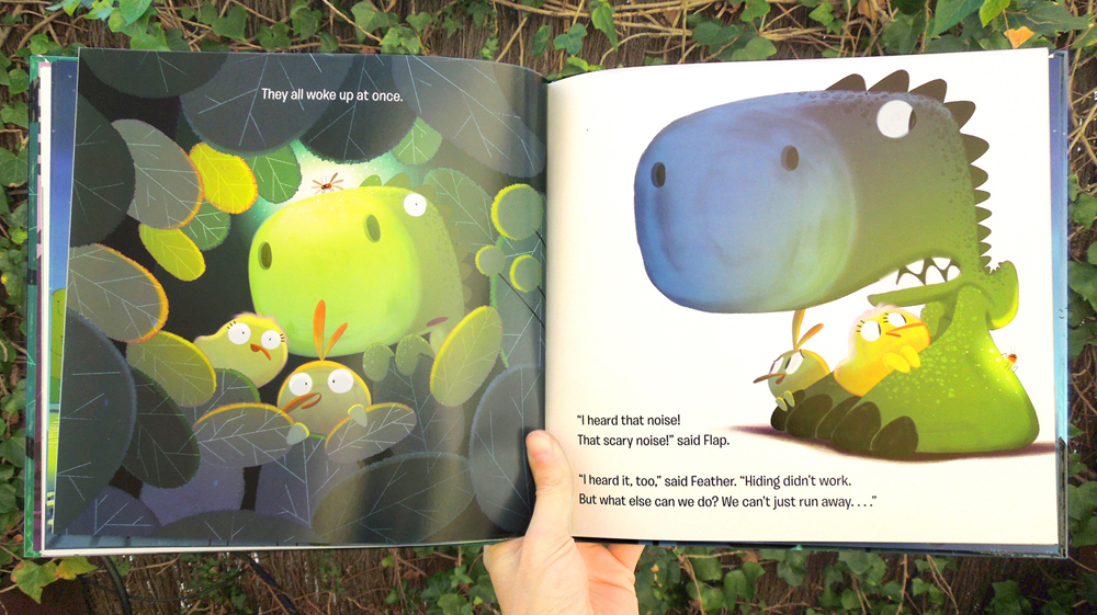Duck duck dinosaur on behance duck duck dinosaur noise at the night board book hardcover 2nd title of the series text by kallie george 2017 harper collins publicscrutiny Image collections