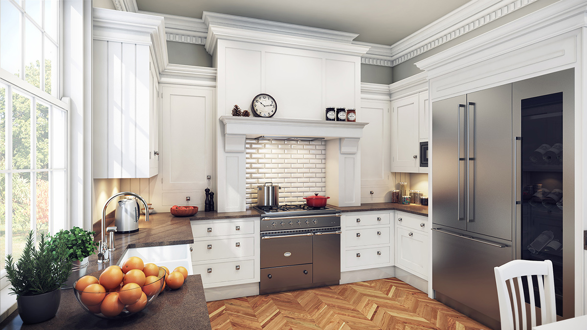 An Classic English Kitchen On Behance