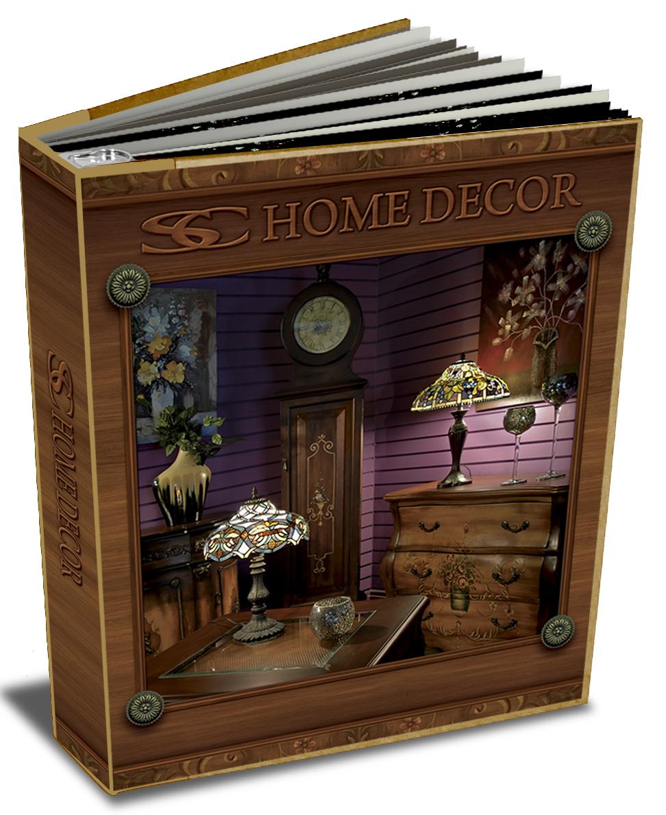SC Home Décor Wholesale Catalog Binder on Behance