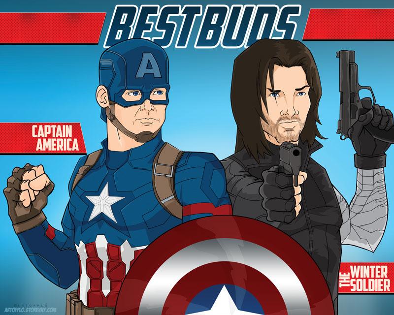 captain america marvel photoshop art Digital Art  Comic Book comic art larios