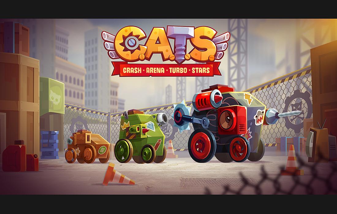 скачать cats crash arena turbo stars взлом
