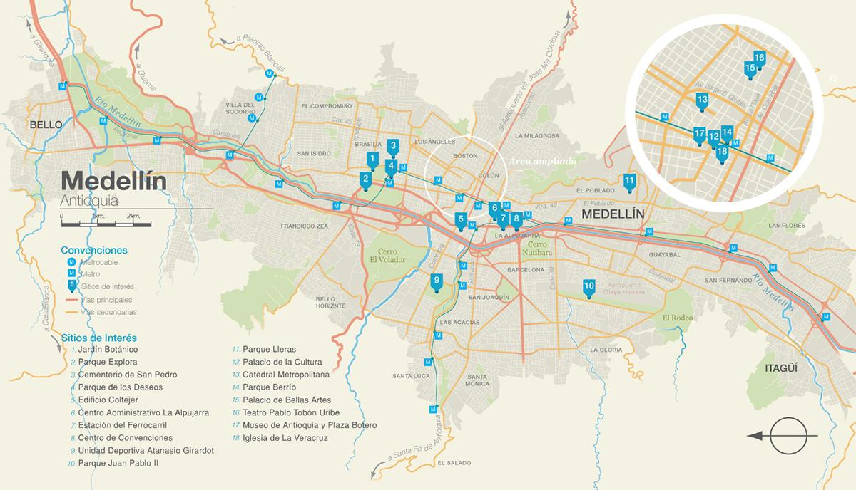 Medellin on Behance