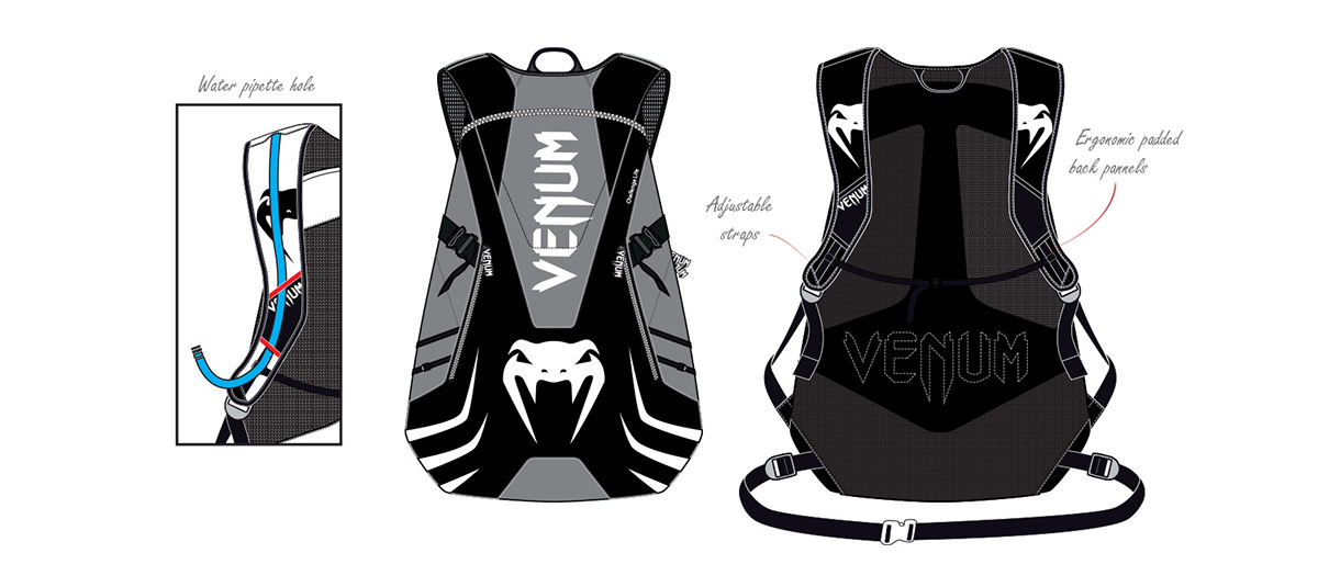 bags duffle backpack running training Venum sports fightwear sac à dos valise MMA Boxing