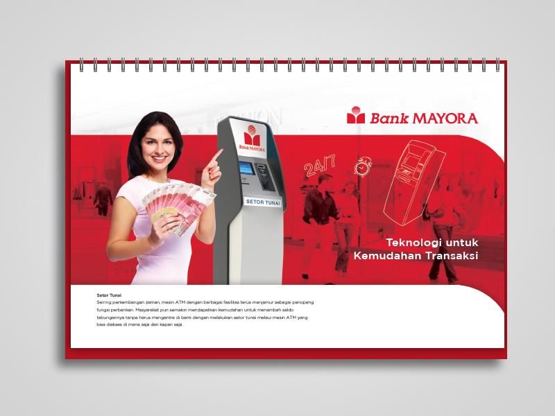 Calendar Design Behance : Bank mayora calendar agenda design prototype on