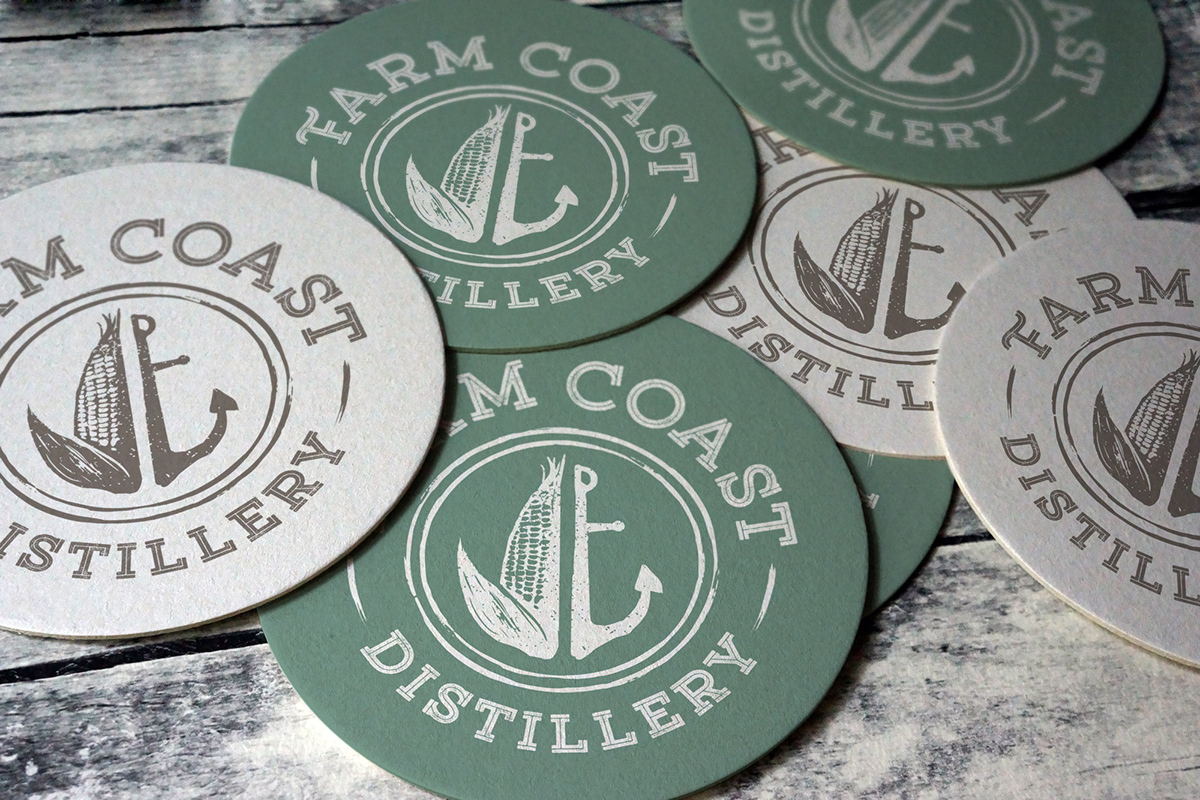 bourbon distillery farmcoast gin labels Packaging Spirits Vodka westport Whiskey