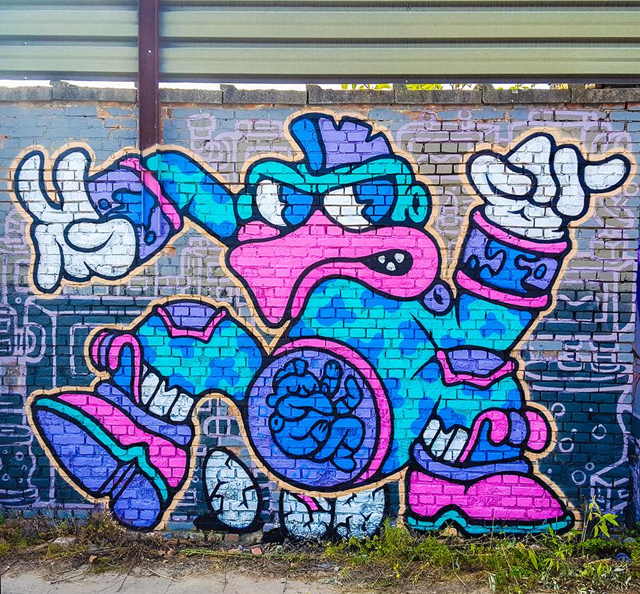Image may contain: abstract, graffiti and cartoon