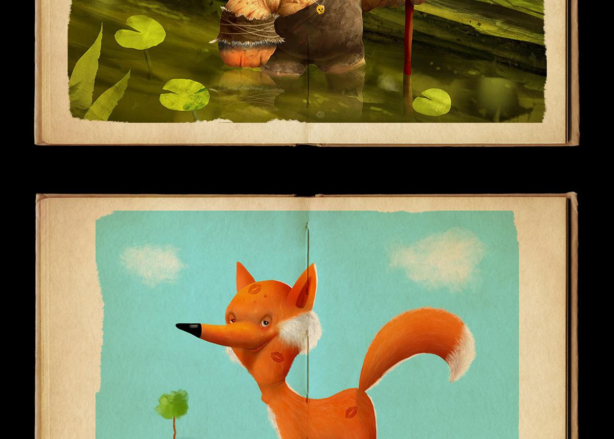 Image may contain: cartoon, aquarium and animal