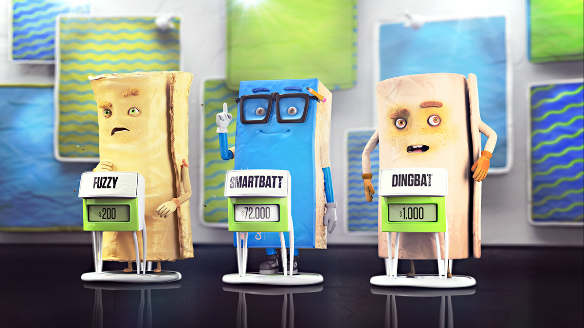 Character house insulation protection tv show Quiz Competition Smart funny