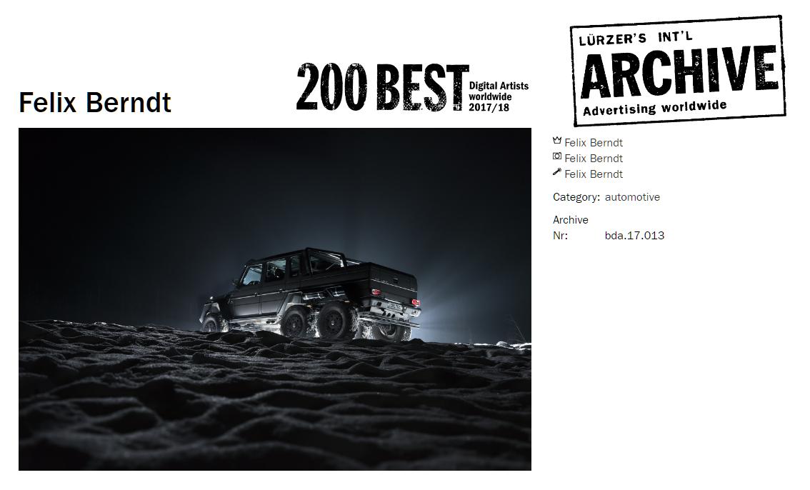 mercedes AMG 6x6 g63 Photography  automotive   felix berndt retouching  retouch Mercedes Benz