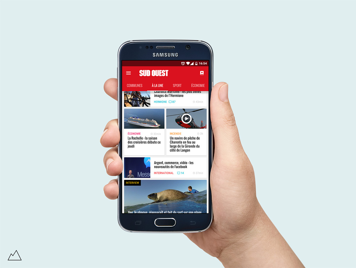 sud ouest news app mobile