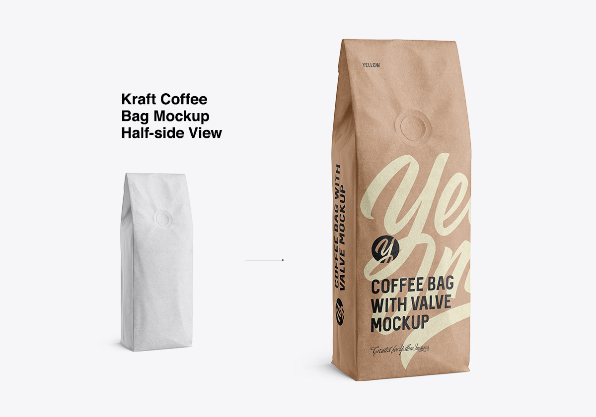 Download Coffee Bags Moskups On Behance PSD Mockup Templates