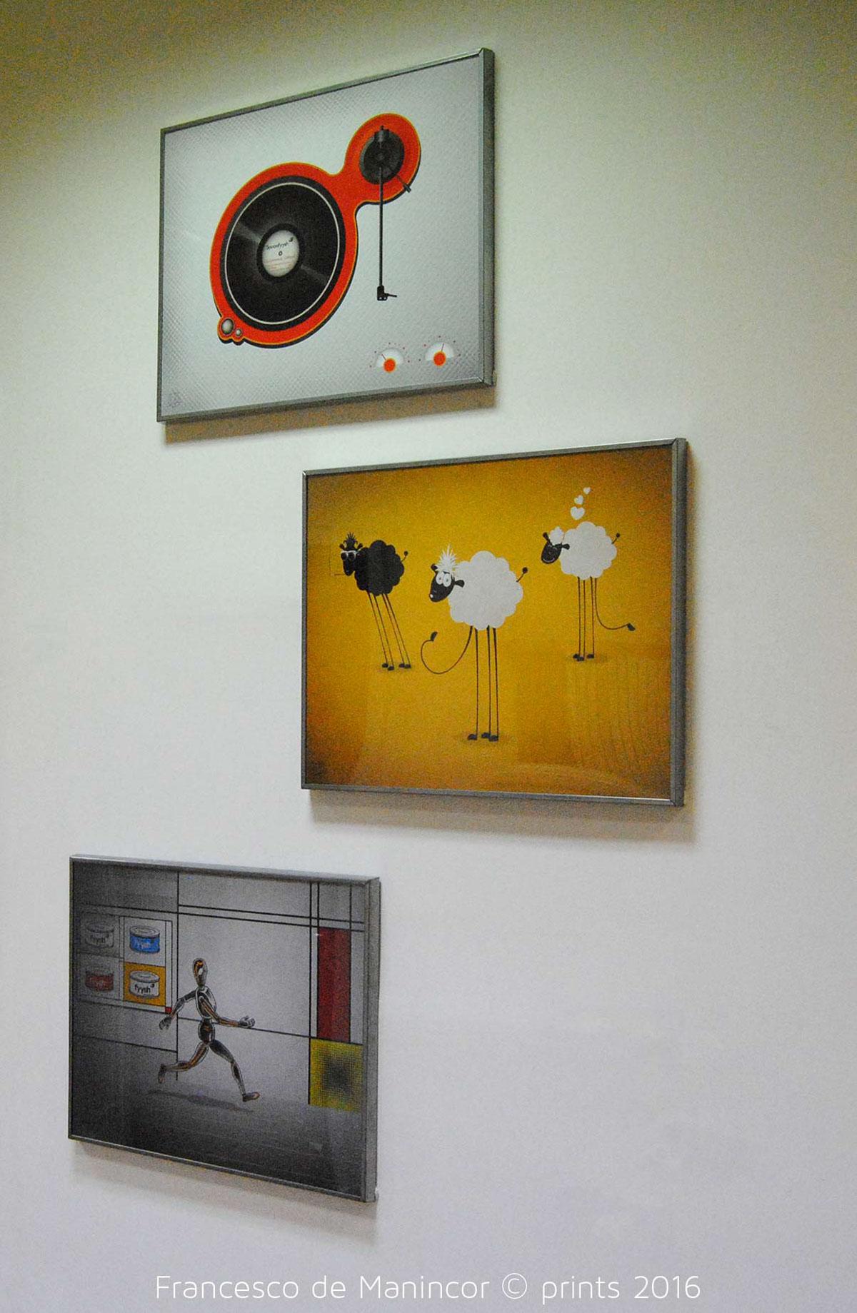 Francesco de Manincor, 2016 prints