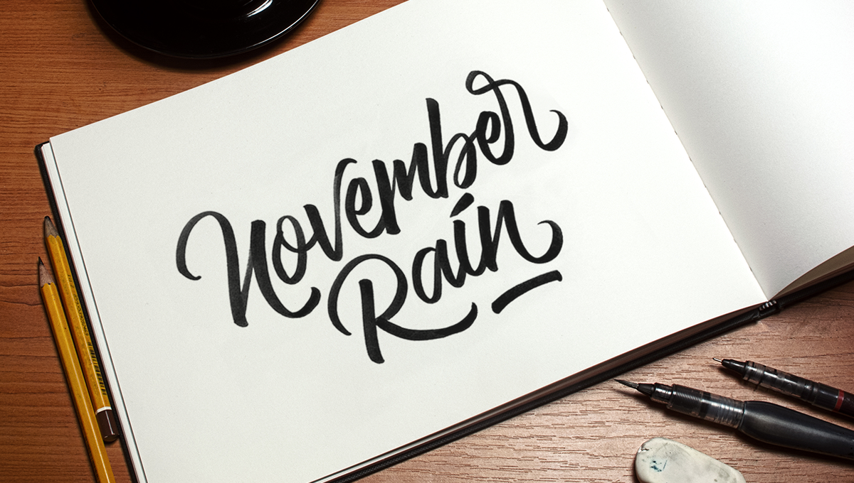 Awesome lettering calligraphy set on behance