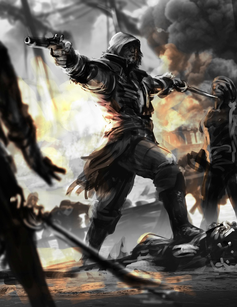 Assassin's Creed game AC4 Cover Art black flag