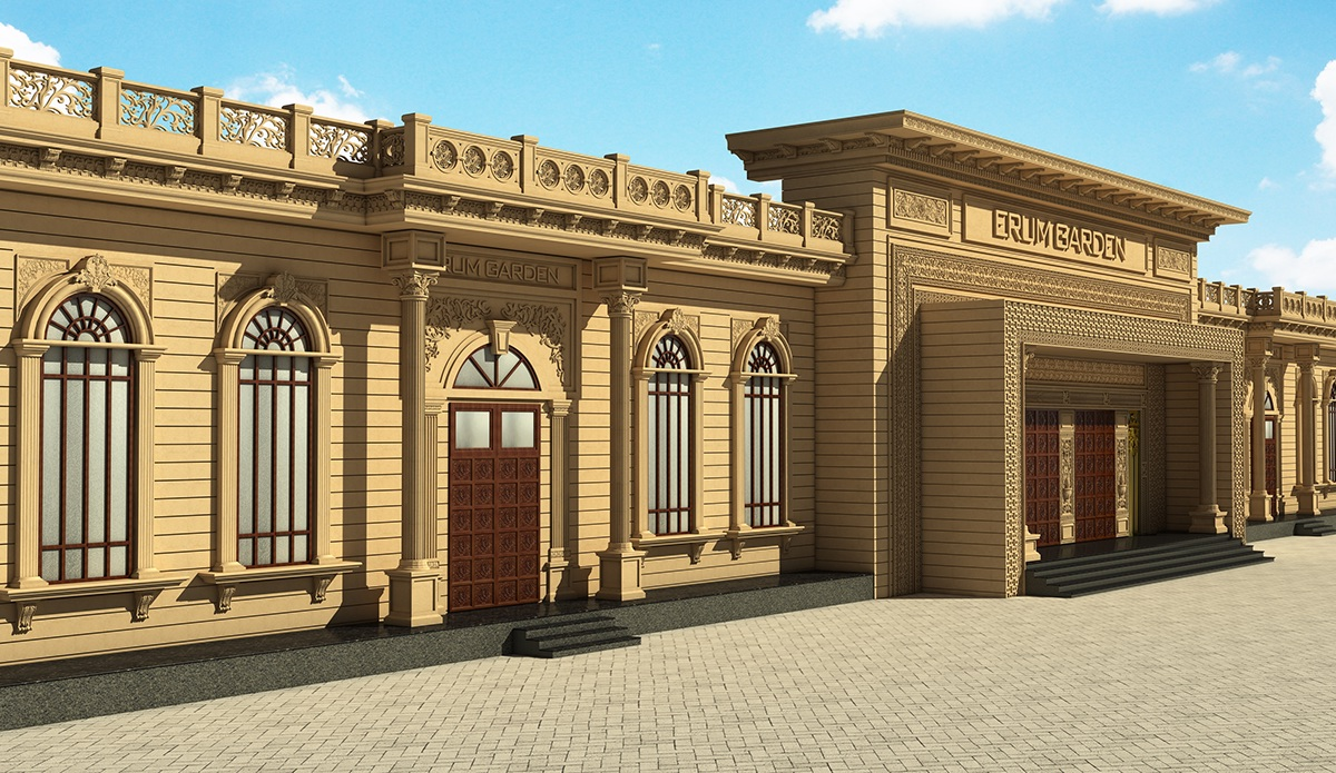 Marriage Hall Front Elevation Designs : Marriage hall design front elevation images