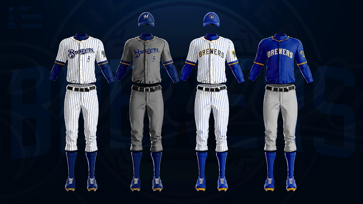 size 40 0868e 7119d MLB Jerseys Redesigned on Behance