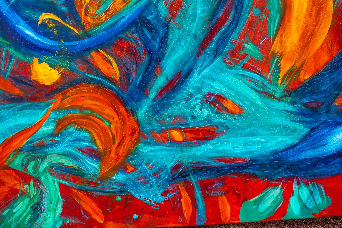 intensive colors pop