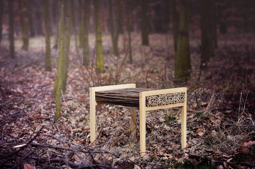 HALUZ bench willow ash design tomas vacek studiovacek Czech
