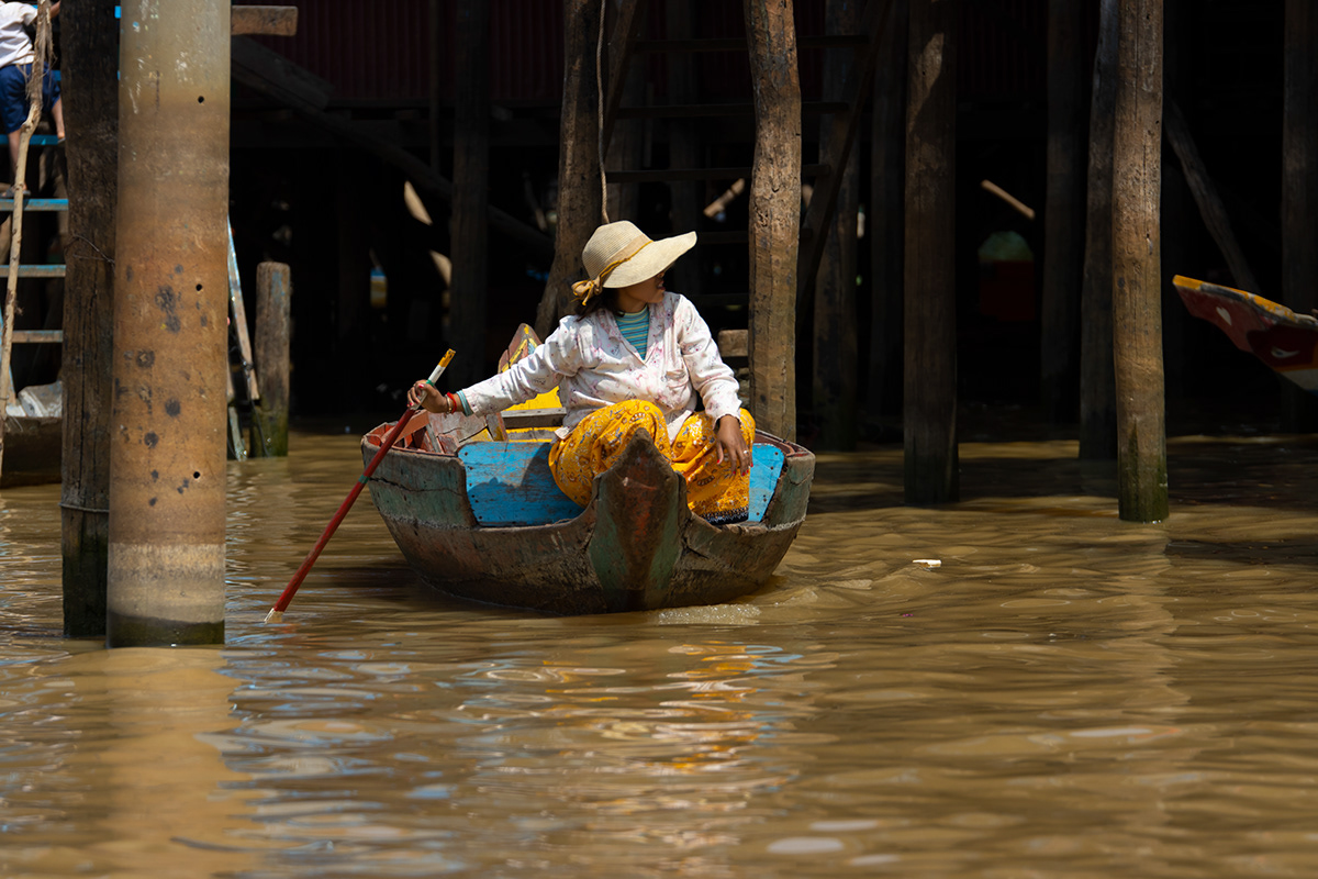 Image may contain: boat, water and lake