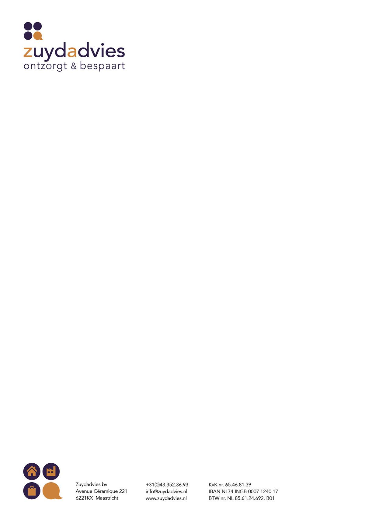 zuydadvies zuydadvies maastricht lidia janevski ontwerp logo design zuydadvies