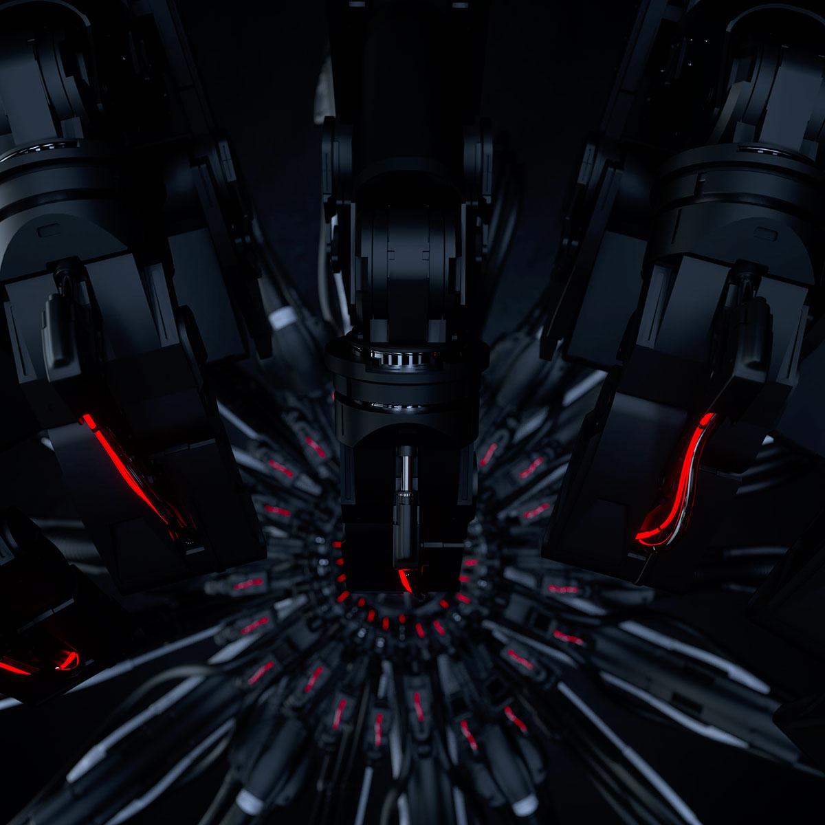 mechanical 3dcg cinema4d octanerender   octane