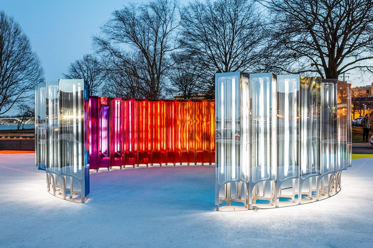 artwork interactive light sound