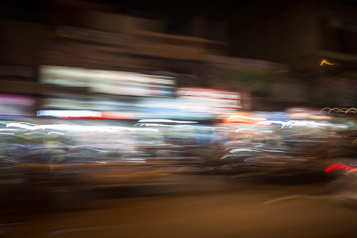 Neu Delhi bei Nacht I