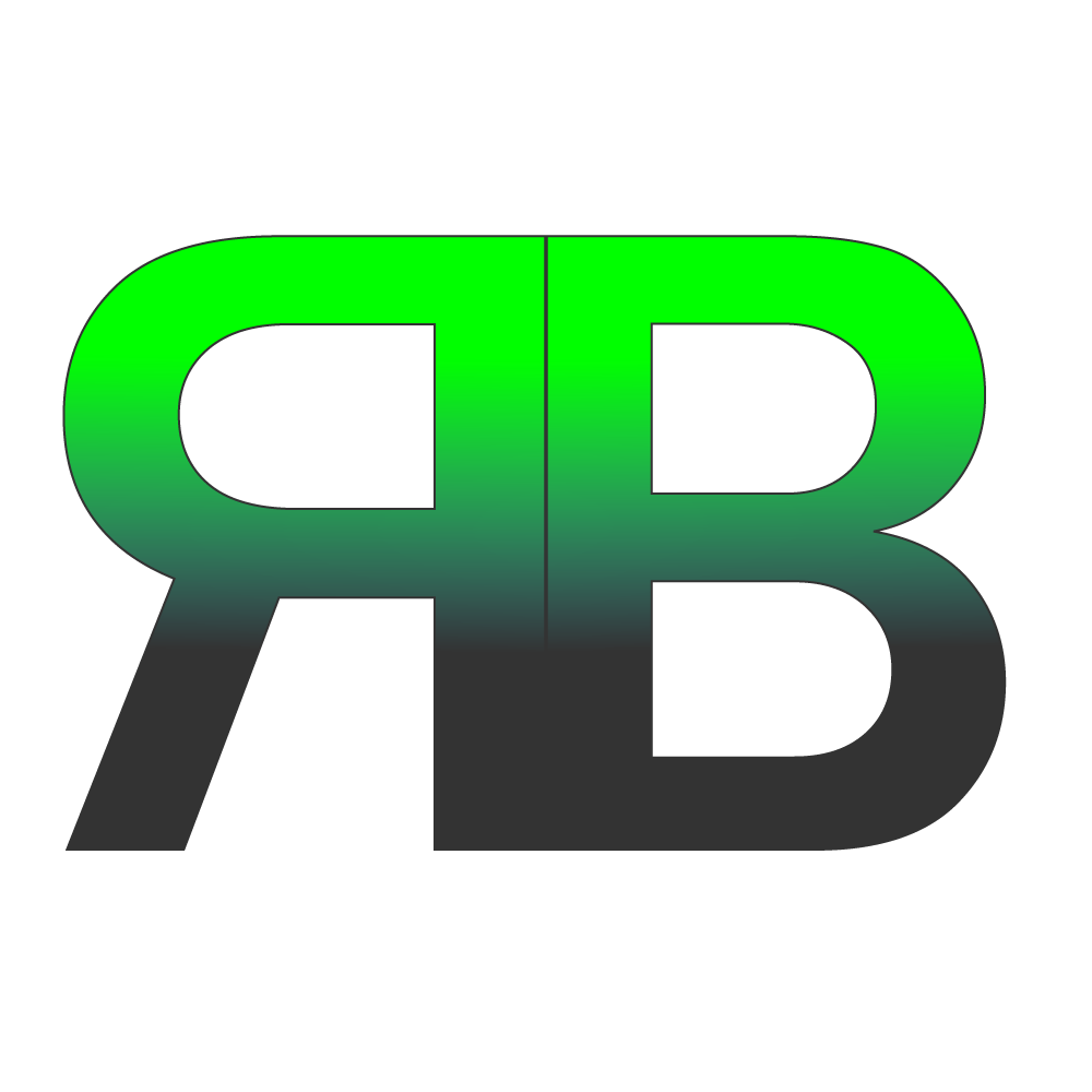 My logo on behance i quickly made this logo for myself the logo represents my initials br the r is reflected vertically im a big fan of simple clean logos buycottarizona