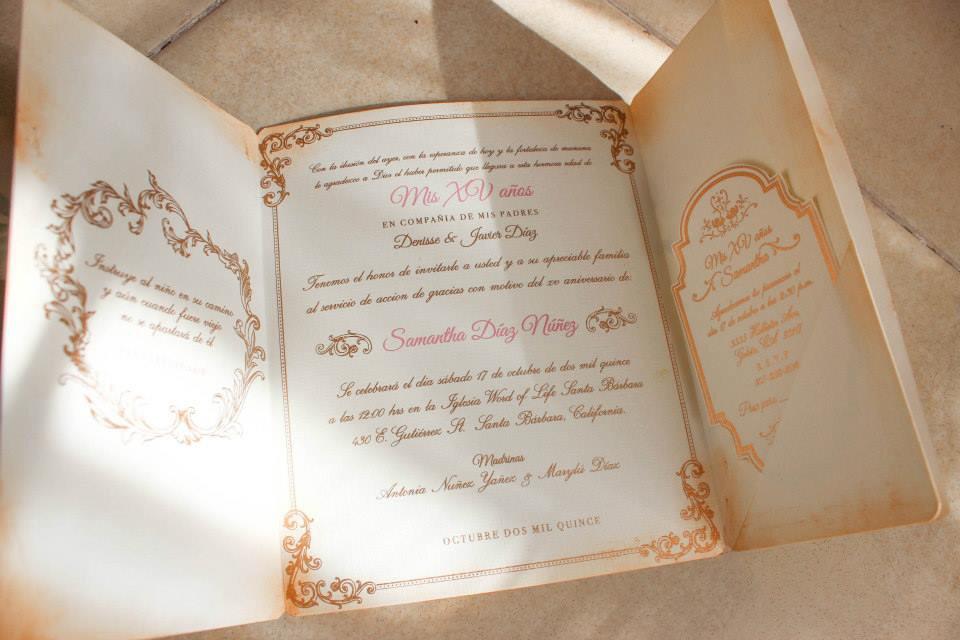 Miriam Montoya Enchanted Forest Invitation