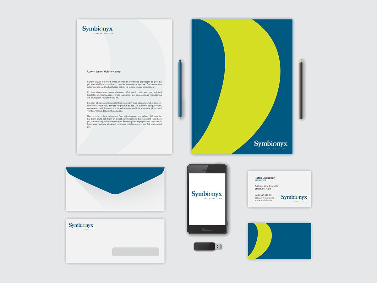 Symbionyx logo on Behance