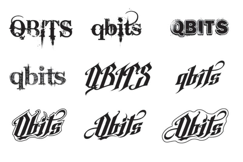 qbits,Logotype