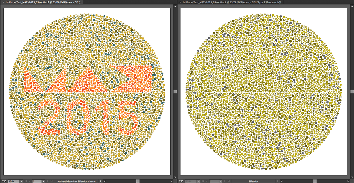 Adobe Max 2015 Ishihara Test For Color Blindness On Behance
