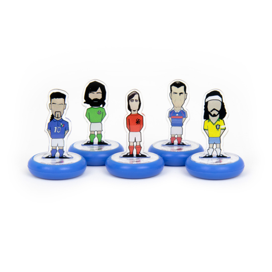 football Subbuteo Packaging table soccer Table Football legends handmade eco-friendly gift collectible