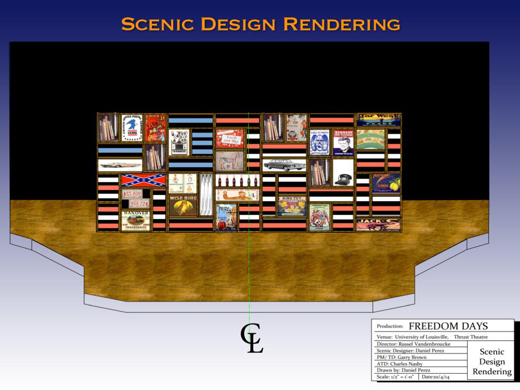 Scenic Design Lighting Design