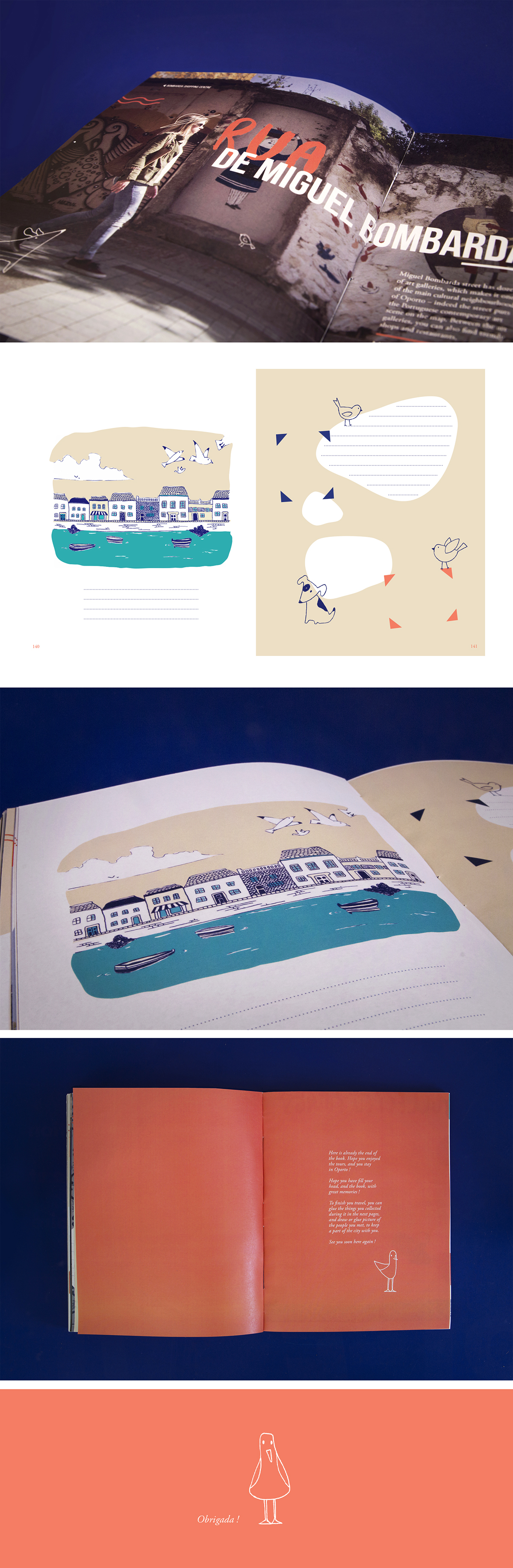 book Oporto porto City Guide Travel Travel book Portugal explore Layout journey