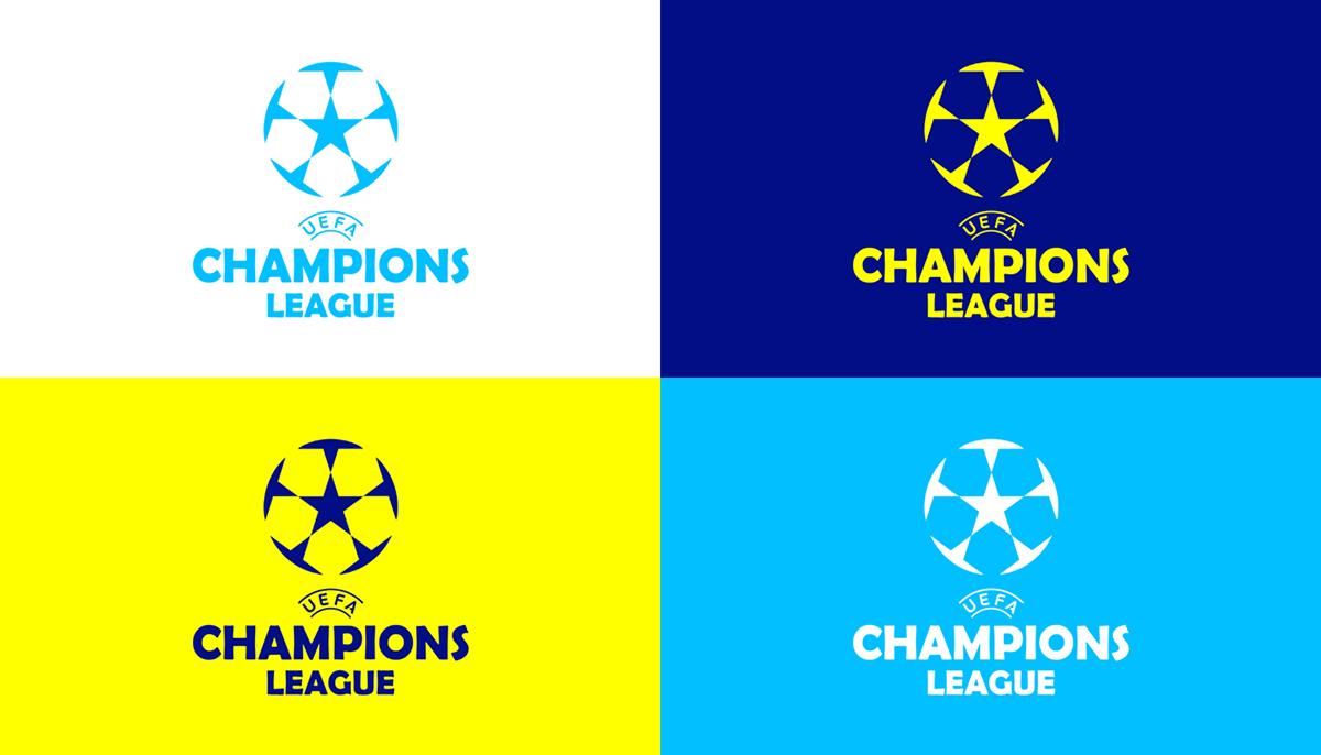 UEFA Champions League Branding on Behance