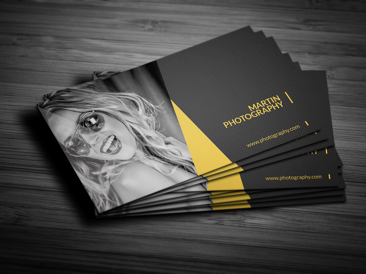 Photography Business Card on Behance