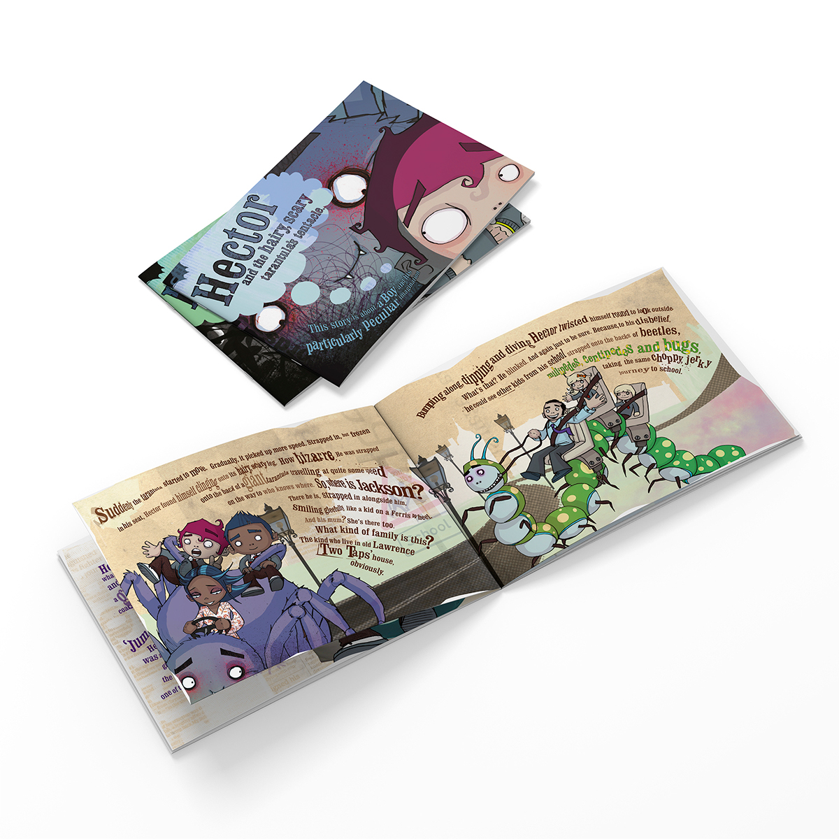 Adobe Portfolio texaco Road Safety children book
