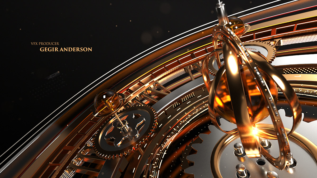 pearls mechanism gears gold universe Space  motion astrolabe broadcast opener
